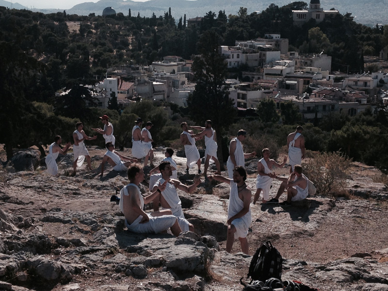 Toga-Party in Athen