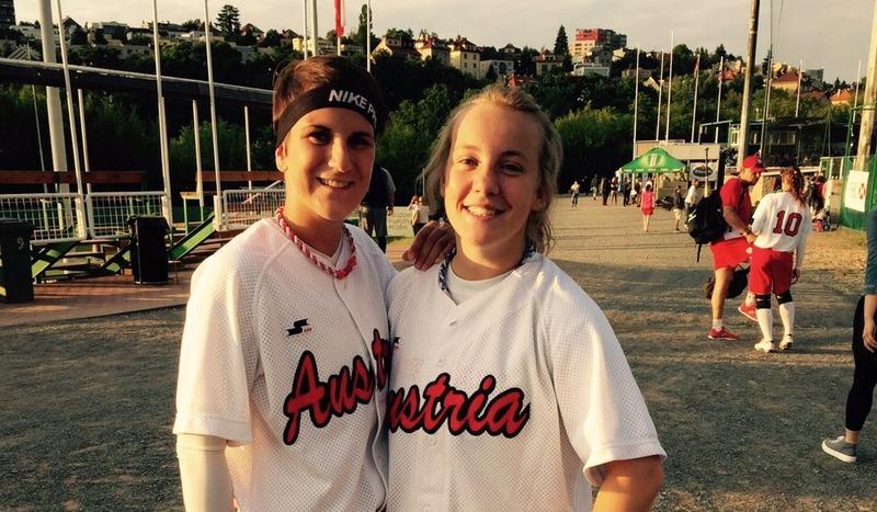Zwei Mossies im Softball-Nationalteam