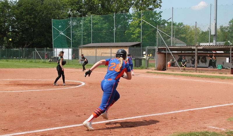 Nachtrag: Wiener Softball Derby endet mit einem Split
