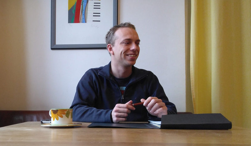 Zum Abschied ein Gespräch mit unserem Metrostars Manager Elias