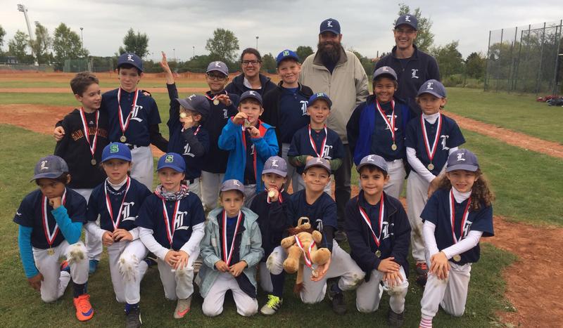 Vizemeister in der Kinderliga Ost – die Spielgemeinschaft Lions/Cubs