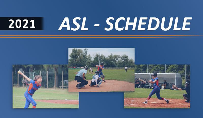 Spielplan der Austrian Softball League veröffentlicht